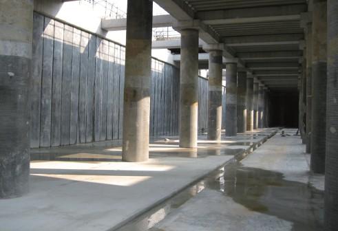 地下式調整池