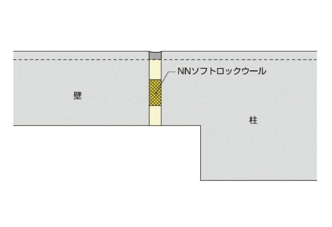 耐震改修耐火スリット工法概要図