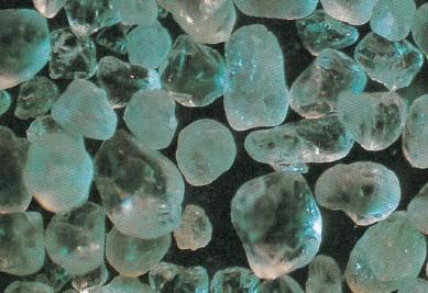 硅砂顕微鏡写真