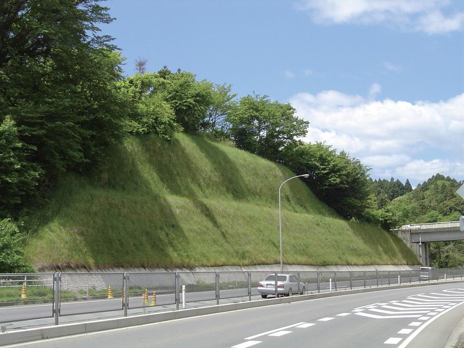 国道法面の施工事例
