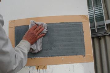 鋼構造物の塗膜剥離の作業フロー