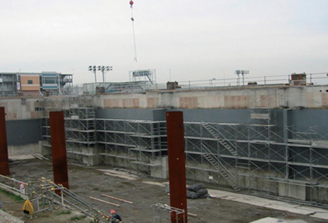 施工事例 羽田第二旅客ターミナルビル新設工事