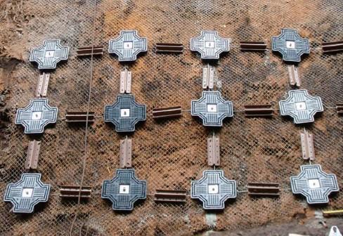 クロノパネルとヤマノフレームを併用した施工例