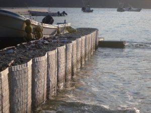 漁港嵩上げ土留工