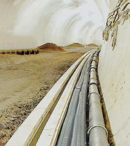 トンネル側道