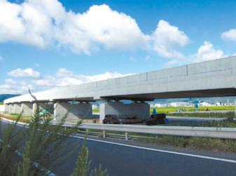 国道161号青柳第1高架橋(近畿地整)