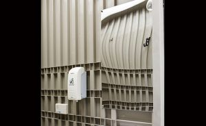 大型ミラー・除菌クリーナー・擬音装置