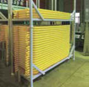 KYフェンスバリ 段積みでの収納が可能