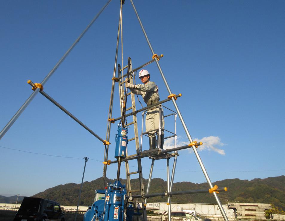 地質調査用安全デッキFSD-2