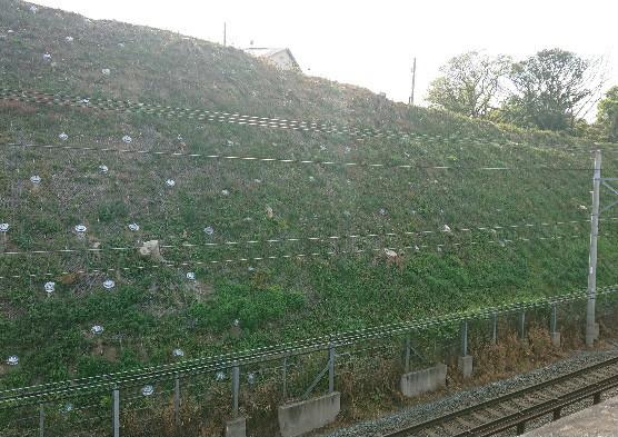 鉄道法面対策工事