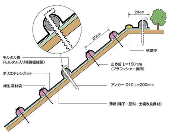 キョウジンガー標準断面図
