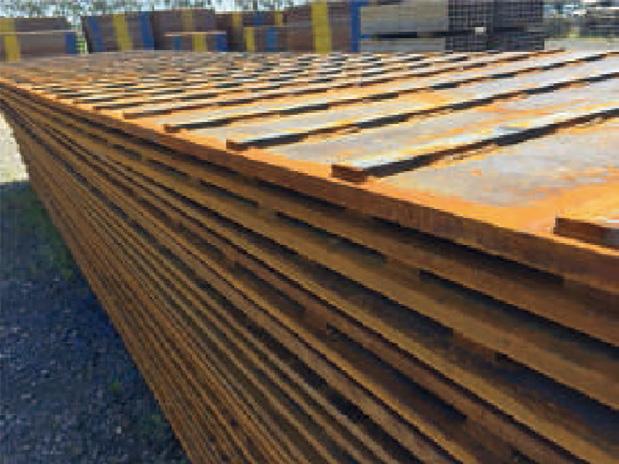フラットバー付敷鉄板の特長
