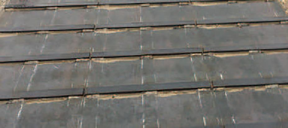 フラットバー付敷鉄板の鉄板の種類