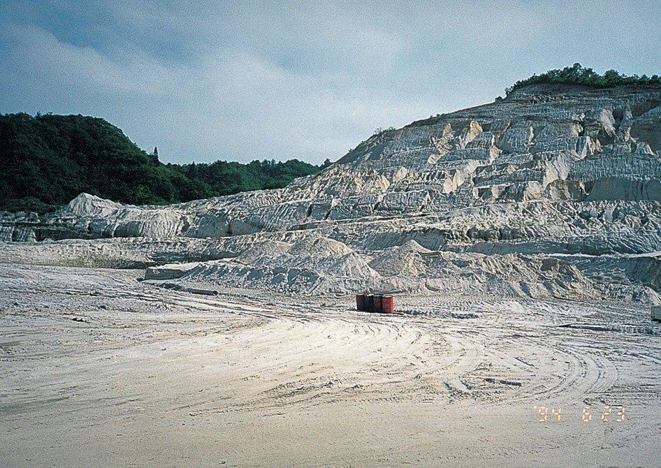 埋蔵量1億8千万トンの豊富な資源で安定供給を可能に