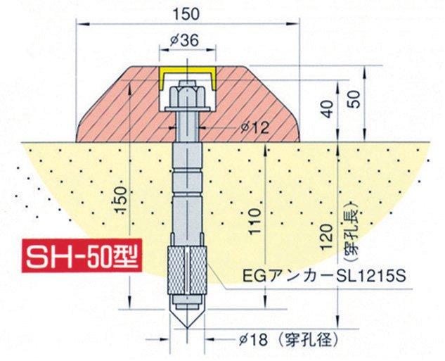 滑り材(シラ材SH型)