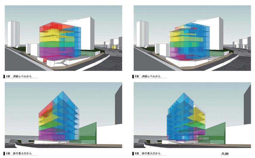 図-4ゾーニング計画の可視化