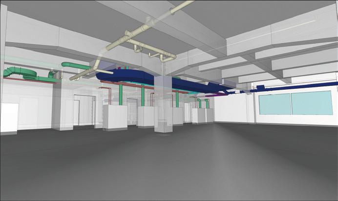 事務所内設計モデル