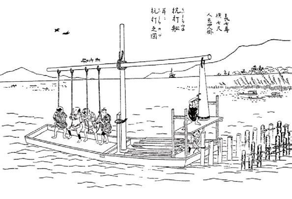 図-3 杭打ち