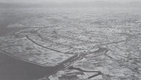 写真-1 筑後川下流の干拓地