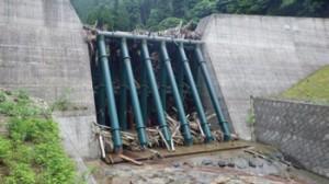 写真-3 田良川砂防堰堤