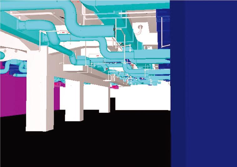 図-6 既設と新規設備の3次元モデリング