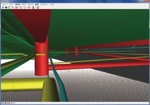 図-4 3Dによる目視チェック