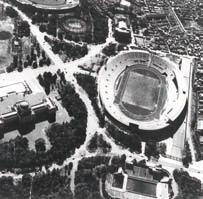 写真-1 1958年建設当時の航空写真