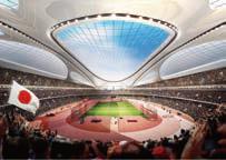写真-13 新国立競技場イメージ図
