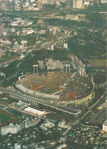 写真-2 東京オリンピック開会式の航空写真