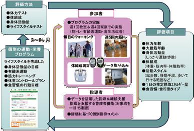 図-6 e-wellnessの仕組み