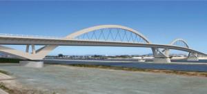 図-1 筑後川橋(完成イメージ)