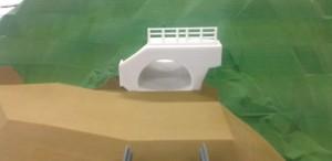 図-10 2年前のトンネル坑口部3Dモデル事例(石膏利用)