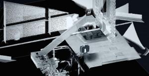 図-2 橋梁付属物の取り付罫書き位置の原寸取