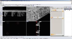 図-3 橋梁のアンカーボルト位置計測