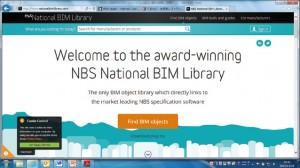 図-1 NBS National BIMライブラリーのトップページ