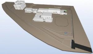 図-6 全体統合3次元モデル