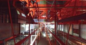 写真-2 3Dスキャナーを活用した天井内