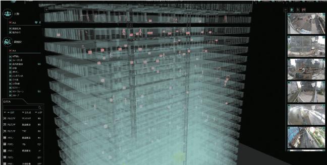 建設現場のデジタルツイン/3D K-Fiel