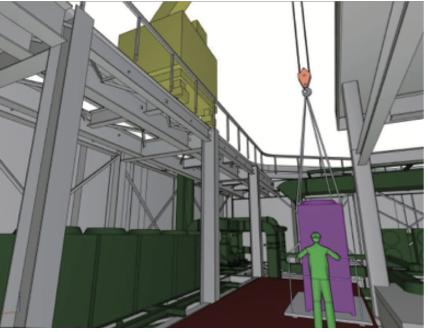 屋上設備機器の更新シミュレーション