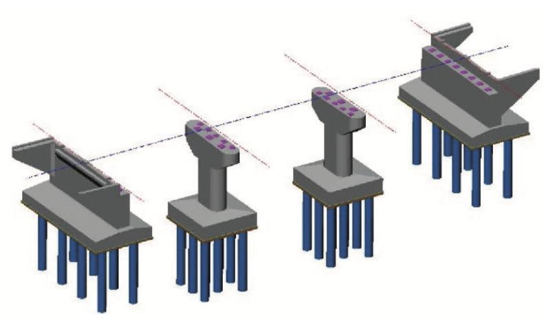 STR_Kitによる橋梁下部工モデル