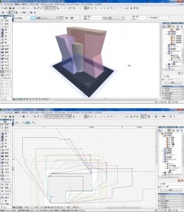 MassPlan for ARCHICAD・ADS-BT for ARCHICAD
