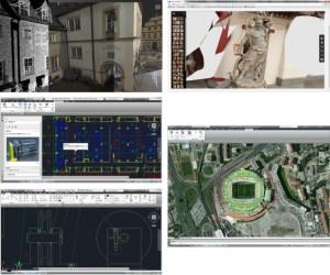 『Autodesk ReCap』『AUTO CAD 2014』