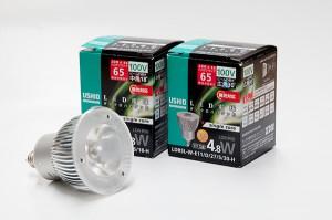 LEDIU LED電球 ダイクロハロゲン形 JDRφ50タイプ 調光対応シングルコア
