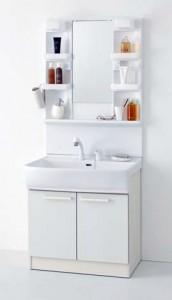 洗面化粧台シャンピーヌ