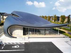 屋根一体型ソーラーシステム