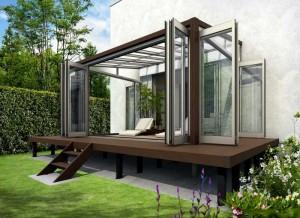 木調ガーデンルームタイプ(テラス囲い)