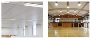 耐震性能を飛躍的に高める、軽量グラスウール天井板の工法