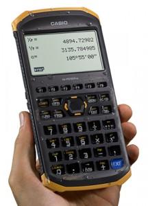 耐衝撃性能や防沫・防塵性能を搭載したタフな土木測量専業電卓『fx-FD10 Pro』