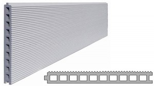環境対策機能(日射反射機能)を付加したデザインパネル『アスロック「レフスカイミニ」』