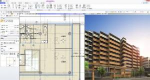 設計シーンの合理化を行い、設計事務所、ゼネコンの設計業務を全面的に支援する『GLOOBE 2015』
